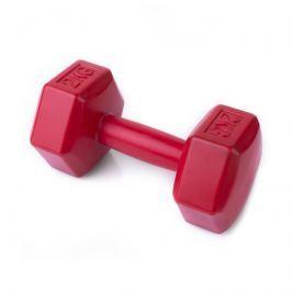 SPOKEY - NISOS Šestihranná činka 2 kg - červená