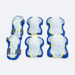 SPOKEY - SENTINEL - 3-dílná sada dětských chráničů modré velikost S