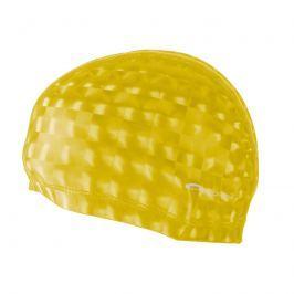 SPOKEY - TORPEDO 3D Plavecká PU čepice žlutá