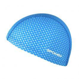 SPOKEY - TRACE JUNIOR Plavecká čepice nylon, potisk modrá