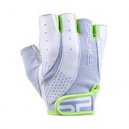 SPOKEY - ZOE II Dámské Fitness rukavice bílo-limetkové vel. M