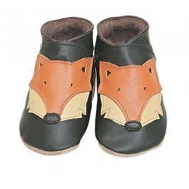 Starchild - Kožené botičky - Foxy Choc - velikost XL (18-24 měsíců)