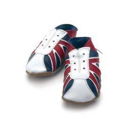 STARCHILD - Kožené botičky - UK Trainer,  Child Medium - velkost 4-5 let (velkost 27-28)