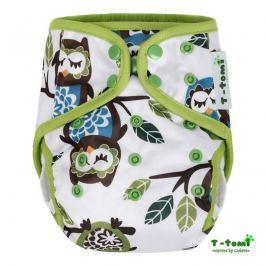 T-TOMI - Vrchní kalhotky, bílé sovy