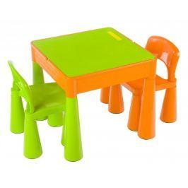 TEGA BABY - Dětský set Mamut Oranžovo-Zelený