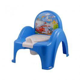 TEGA BABY - Nočník křesílko s melodií Cars - modrý