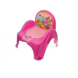 TEGA BABY - Nočník křesílko Safari - růžový