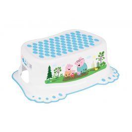 TEGA BABY - Stupínek Peppa Pig - bílý / modrý