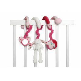 TIAMO - Špirála zajačik biela/ružová