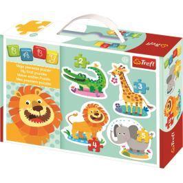 TREFL - Moje první puzzle Zoo zvířátka série