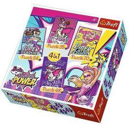TREFL - Puzzle Barbie 4 v 1