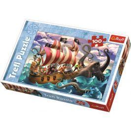 TREFL - Puzzle Bitva na moři 100 dílů