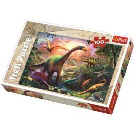 TREFL - Puzzle Dinosauři 100 dílů