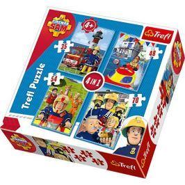 TREFL - Puzzle Sam: 4v1