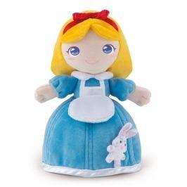 TRUDI - Plyšová panenka Allysa se zvířátkem - modrá