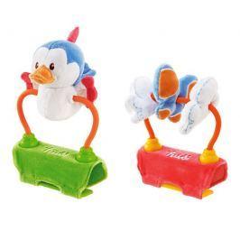 TRUDI - Plyšová hračka na kočárek se zvuky - Ptáček