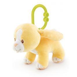 TRUDI - Plyšová hračka na zavěšení se zvuky - Zajíček