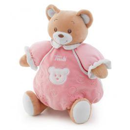 TRUDI - Plyšový Medvídek se zvuky malý - růžový