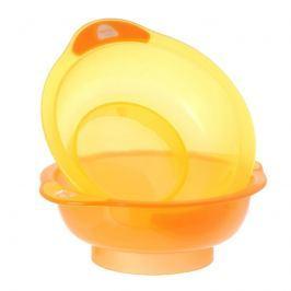 VITAL BABY - Dvě misky Unbelievabowl - oranžová