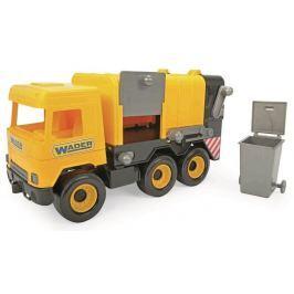 WADER - Middle Truck popelář žlutý v boxu 32123
