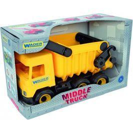 WADER - Middle Truck vyklápěčky žlutá v boxu 32121