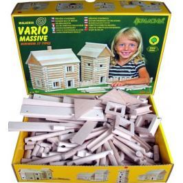 WALACHIA - Dřevěná stavebnice VARIO MASSIVE 209 dílů