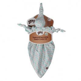 XKKO - Bambusový mazlíček - Scandinavian Baby Mint Chevron