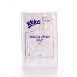 XKKO - Classic bavlněné pleny 70x70 bílé - 10ks