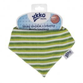 XKKO - Slintáček Organic Staré časy Green Stripes