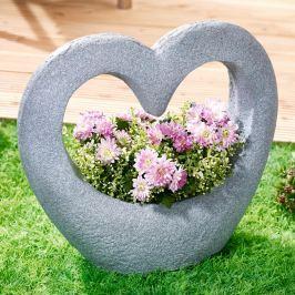 Květináč Kamenné srdce