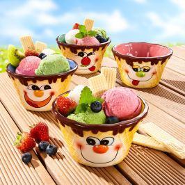 Misky na zmrzlinu, 4 kusy