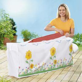 Ochranný obal na polstry slunečnice, 125 x 50 x 32 cm