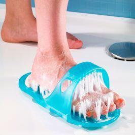 Masážní kartáč na nohy do sprchy