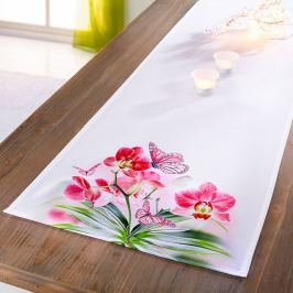 Běhoun na stůl Orchidej, 40 x 160 cm