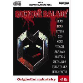 Různí, Rockové balady, CD pošetka