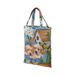 Gobelínová taška Pejsci, 33 x 41 cm
