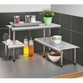 Kuchyňský rohový regál Massivo TRIO