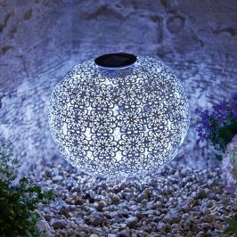 Solární lampa Koule, 30 cm