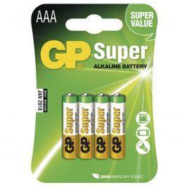 Alkalická baterie GP Super LR03 (AAA), 4 ks