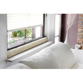 Okenní ochrana proti průvanu 150 cm, přírodní