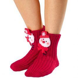 Teplé ponožky Sněhulák