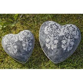 Dekorační keramické srdce Liana, ⌀ 15 cm