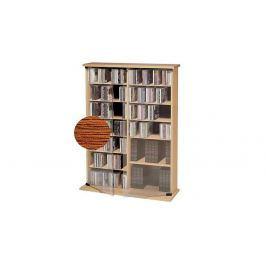 CD skříňka Roma, rustikální dub