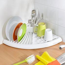 Rohový odkapávač na nádobí