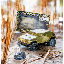 """""""Live of the Grid Military"""" Eau de Parfum Men, 4 x 25 ml"""