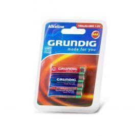 Alkalické baterie GRUNDIG AAA, 4 ks