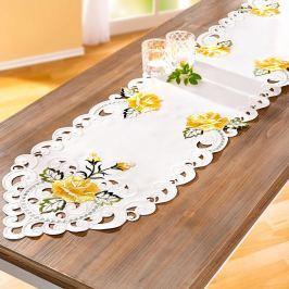 Běhoun na stůl Růže, 32 x 168 cm