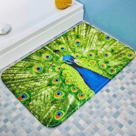 Koupelnová předložka Páv