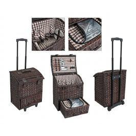 Piknikový vozík pro 4 osoby, 29 dílný