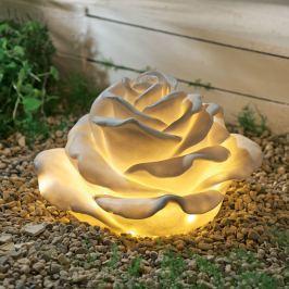 Venkovní světlo Růže